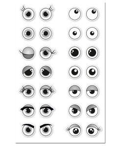 Meyco Stickere 3D ochi 26360 detalii