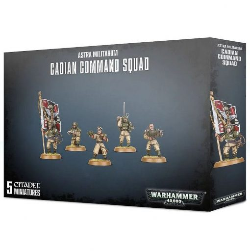 Warhammer Astra Militarum Cadian Command Squad