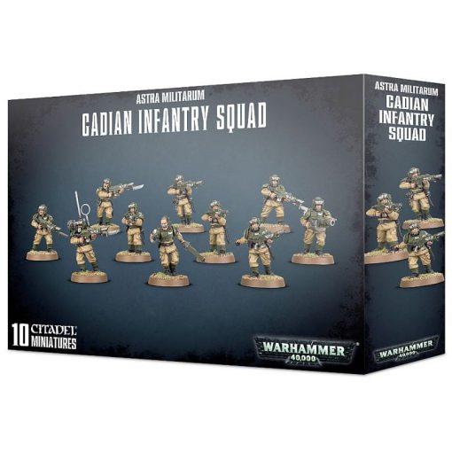 Warhammer Astra Militarum Cadian Infantry Squad