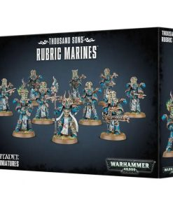 Warhammer Thousand Sons Rubric Marines