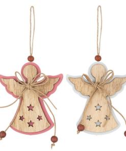 Ornament ingeras din lemn Andel Prerov 4762