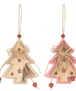 Ornament bradulet din lemn Andel Prerov 4763