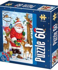 D-Toys Puzzle Crăciun 60 piese Nr.75581-01
