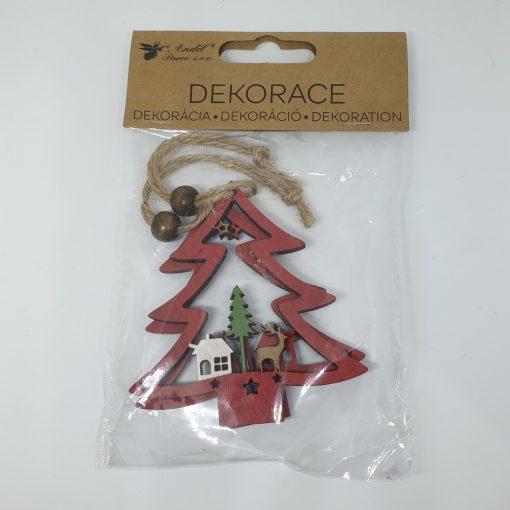 Ornament Bradulet din lemn PentArt 4813