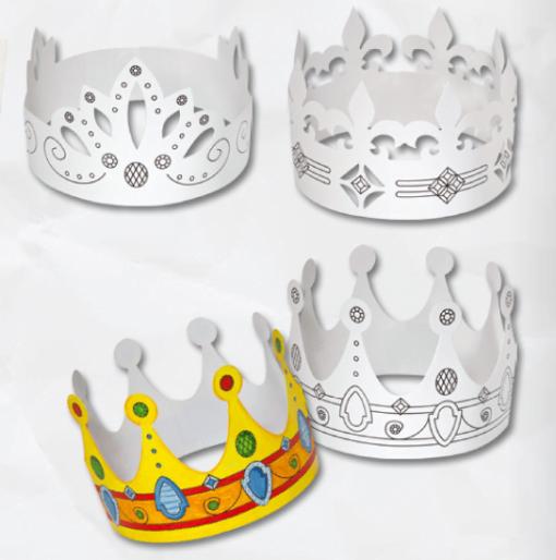 Coroane kinder carton Folia 23309