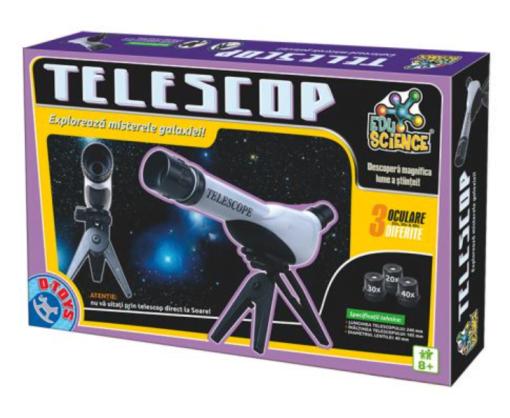 Telescop 3 oculare D-Toys 67975