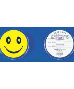 Ecuson plastic Smile cu ac si clips T-058