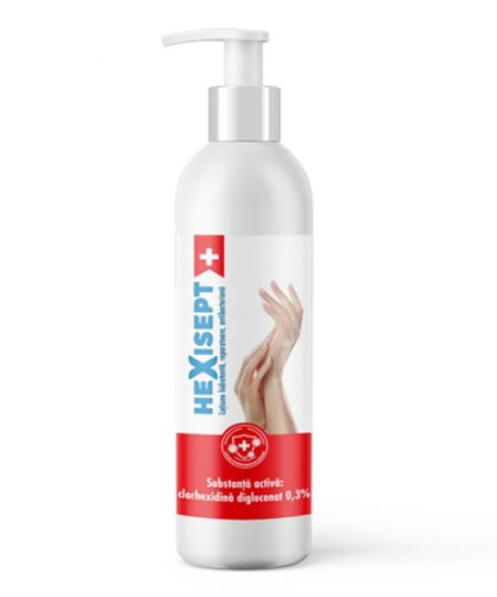 Hexisept Lotiune hidratanta reparatoare antibacteriana 250ml