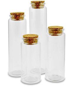 Meyco Flacoane din sticla cu dop de pluta