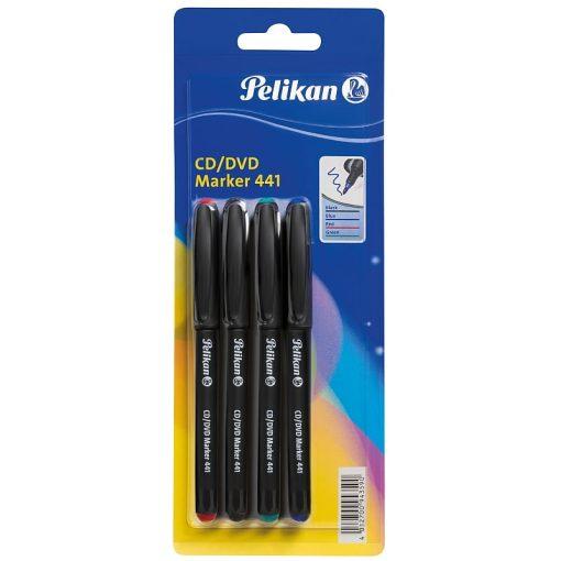 Pelikan Set 4 markere pentru CD