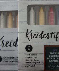 Creioane creta set 6 sau 12 culori Folia