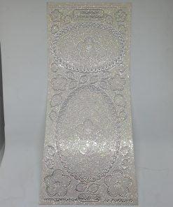 Coala abtibilde transparente glitter STARFORM 3D