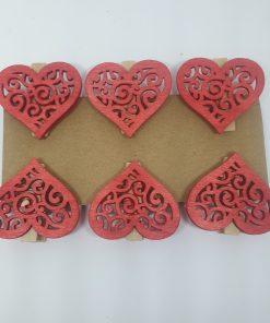 Inimioare clema din lemn Andel Prerov 4193
