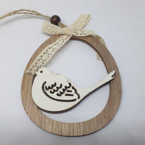 Decorațiune ou lemn 4 modele Andel Prerov