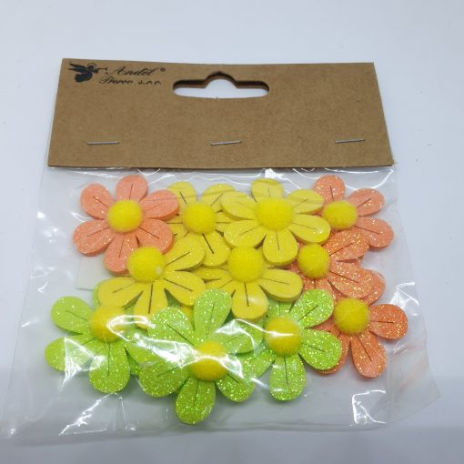 Floricele adezive colorate Andel Prerov 17101