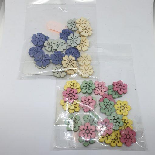 Floricele din lemn 24 buc Andel Prerov