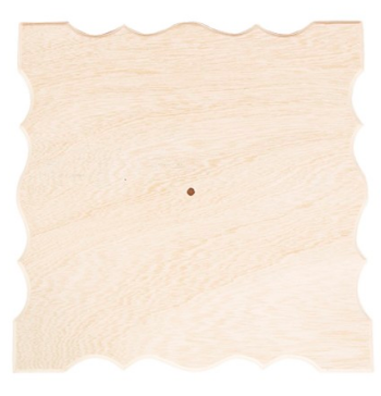 Cadran lemn patrat serpuit PentArt 1919