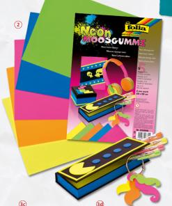 Cauciuc neon Moosgummi Folia 233909