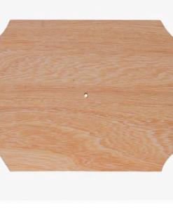 Cadran lemn oval cu bolta PentArt 2419