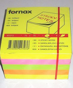 Fornax Bloc Notite adeziv 450 file culori neon