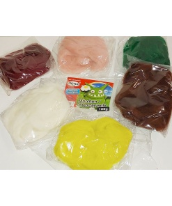 Set 6 culori lana pentru impaslire Meyco 23580
