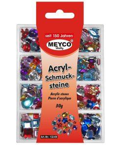 Set Pietre acrilice decorative Meyco 132-09