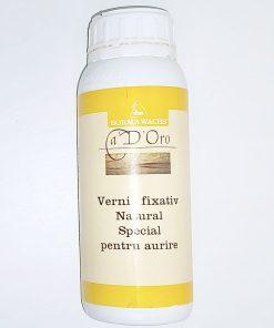Vernis fixativ natural special pentru aurire