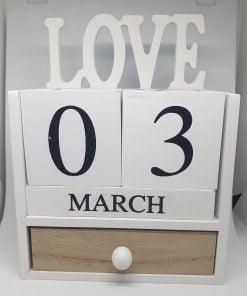 Calendar infinit Love ACH 959412