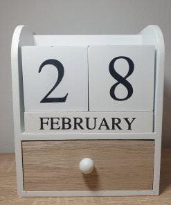 Calendar infinit alb ACH 959413
