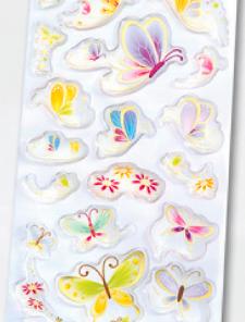Abtibilde epoxy Fluturi Folia 16108