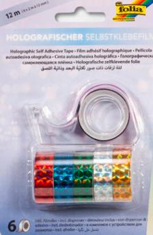 Bandă holografica + dispencer Folia 306