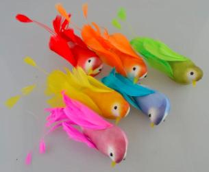 Colibri colorat cu clema ACH 375151