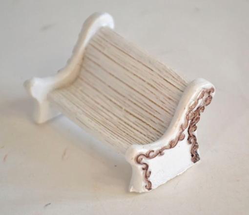 Mini banca alba ceramica ACH 389530