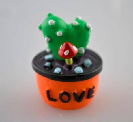 Mini cactusi in ghiveci ceramic ACH 389643