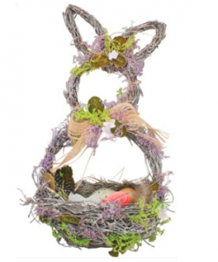 Decoratiune iepure din paie Andel Prerov 4177