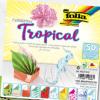 Hartie origami model Tropical Folia 470