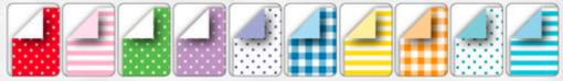 Hârtie origami Basic asortate Folia 489