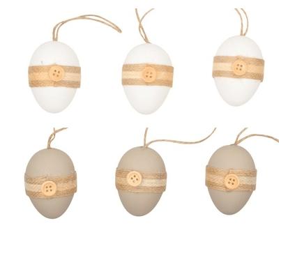 Ouă colorate din plastic Andel Prerov