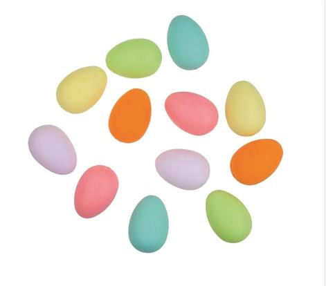 Ouă pastel din plastic Andel Prerov 9942