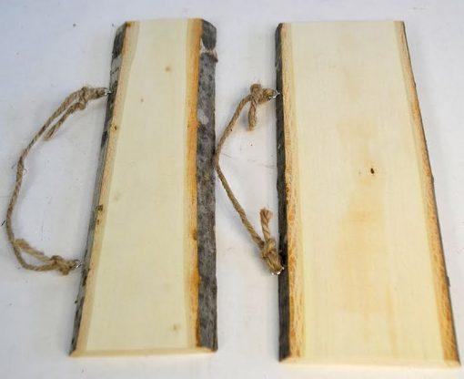 ACH Felie dreptunghiulara de lemn cu scoarta 354983