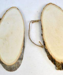 ACH Felie ovala de lemn cu scoarta 354982