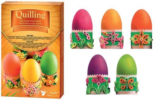 Andel Prerov - Set pentru decorat Ouă 7703 Quilling
