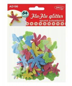 Daco Accesorii craft Flu-Flu glitter AD190