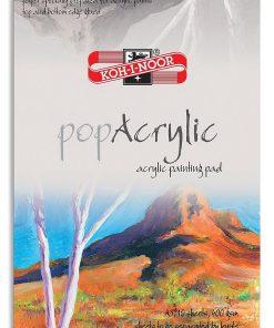 Koh-I-Noor Bloc Acril PopAcrylic 10 foi