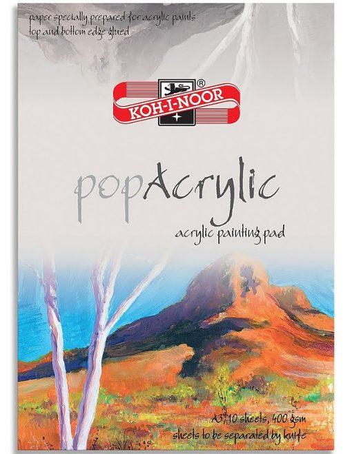 Koh-I-Noor Bloc Desen PopAcrylic A3