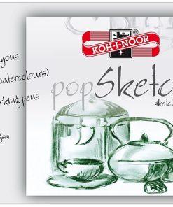 Koh-I-Noor Bloc Desen PopSketch A3