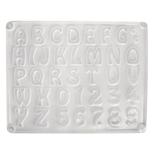 Rayher Matrita litere si cifre