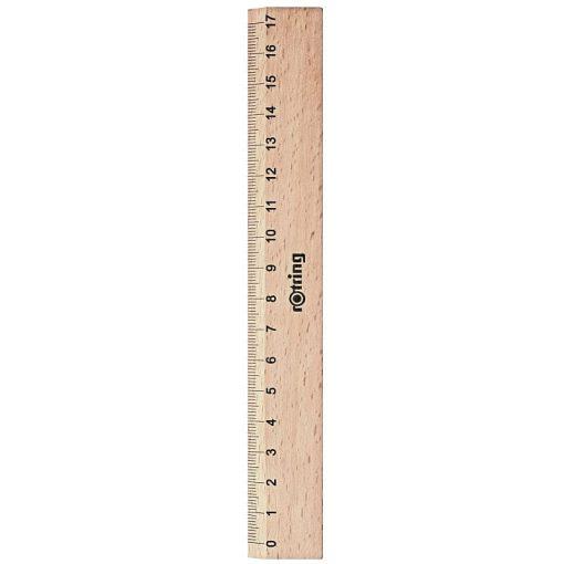 Rotring Liniar din lemn 17cm