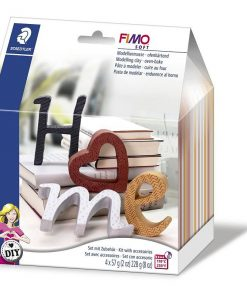 Set Fimo Soft 8025 litere HOME