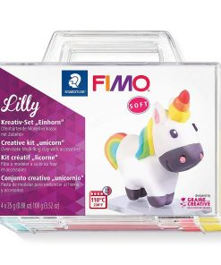 Staedtler - Set Creativ Plastilina Fimo soft 8025 Unicorn Lilly
